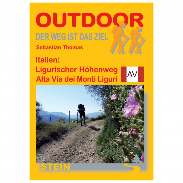 Conrad Stein Verlag - Höhenweg Alta Via dei Monti Liguri - Vandringsguider