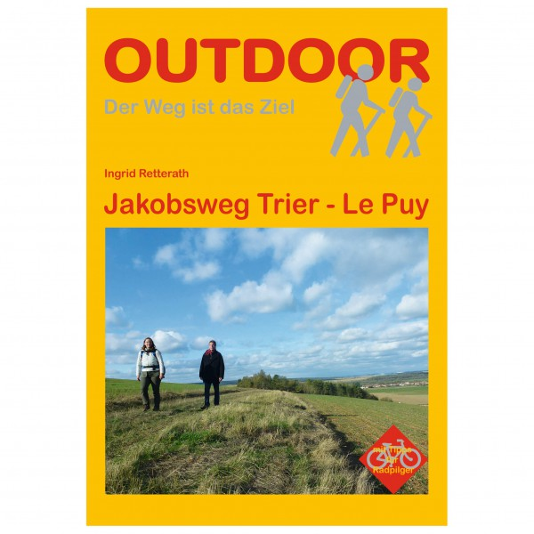 Conrad Stein Verlag - Jakobsweg Trier - Walking guide book
