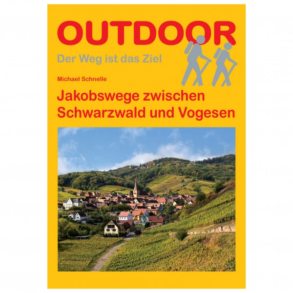 Conrad Stein Verlag - Jakobswege Schwarzwald und Vogesen - Vaellusoppaat