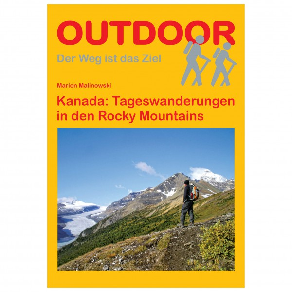 Conrad Stein Verlag - Tageswanderungen Rocky Mountains - Wanderführer