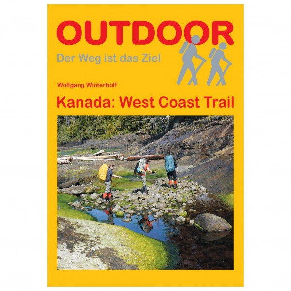 Conrad Stein Verlag - Kanada: West Coast Trail - Walking guide book