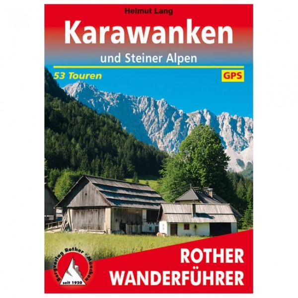 Bergverlag Rother - Karawanken und Steiner Alpen - Vandringsguider