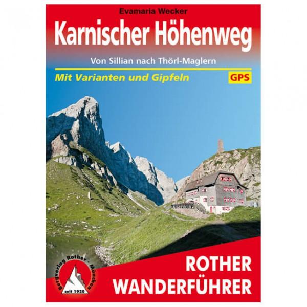 Bergverlag Rother - Karnischer Höhenweg - Wandelgidsen