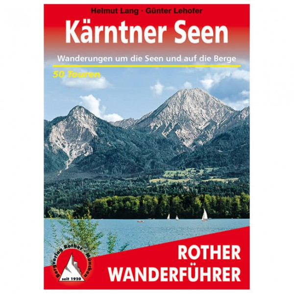Bergverlag Rother - Kärntner Seen - Vandreguides
