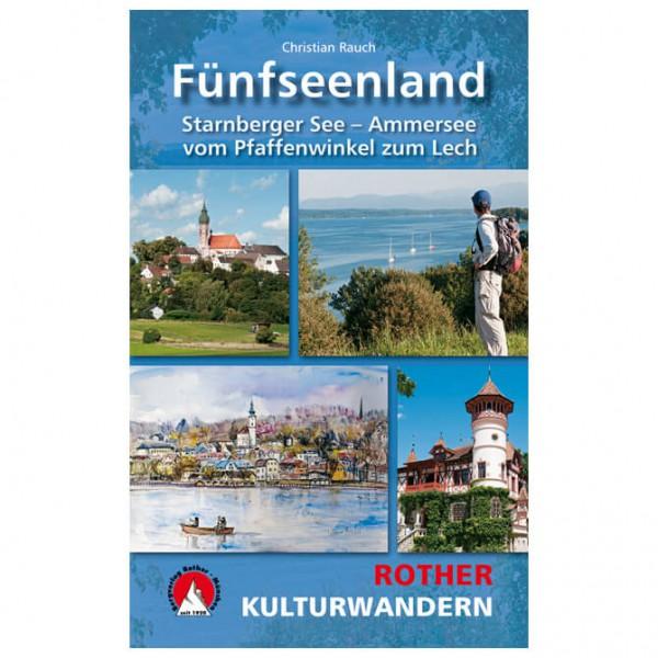 Bergverlag Rother - Kulturwandern Fünfseenland - Vandringsguider