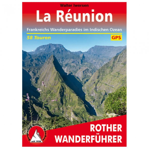 Bergverlag Rother - La Réunion - Vandringsguider