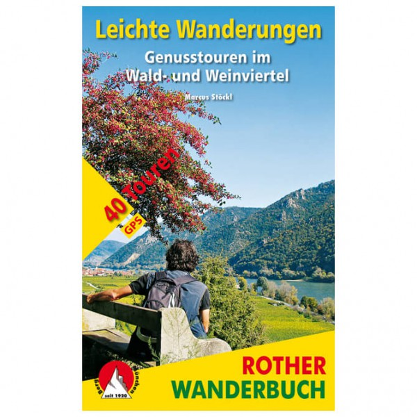 Bergverlag Rother - Leichte Wanderungen Wald- & Weinviertel - Wandelgidsen