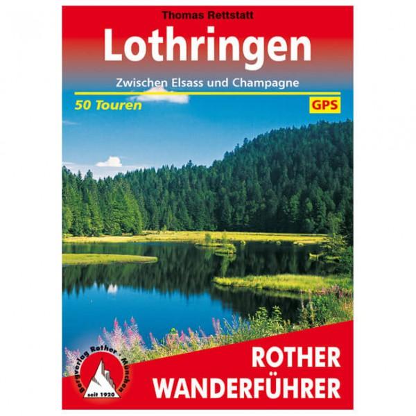 Bergverlag Rother - Lothringen - Vandreguides