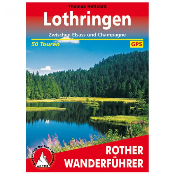 Bergverlag Rother - Lothringen - Walking guide books