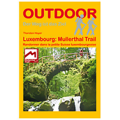 Conrad Stein Verlag - Luxemburg: Mullerthal Trail - Vandringsguider