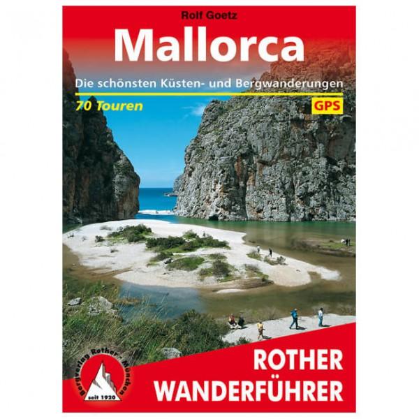 Bergverlag Rother - Mallorca Küsten- und Bergwanderungen - Walking guide book