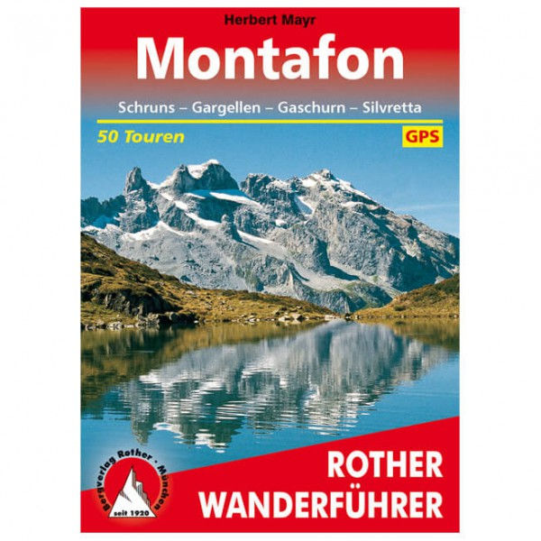 Bergverlag Rother - Montafon - Walking guide book