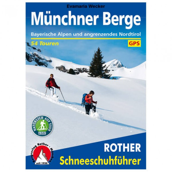 Bergverlag Rother - Münchner Berge - Walking guide books