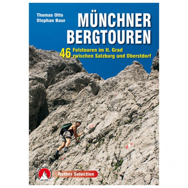 Bergverlag Rother - Münchner Bergtouren - Walking guide book