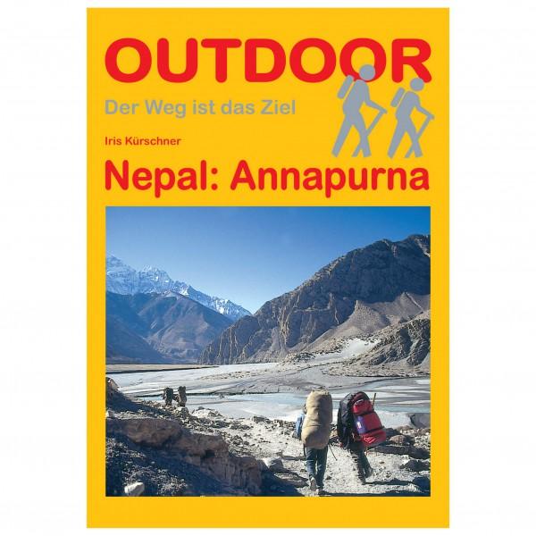 Conrad Stein Verlag - Nepal: Annapurna - Guide de randonnée