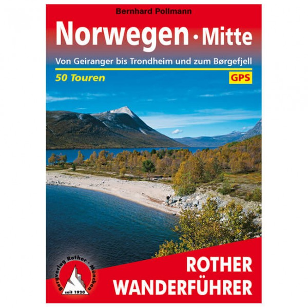 Bergverlag Rother - Norwegen Mitte - Vaellusoppaat