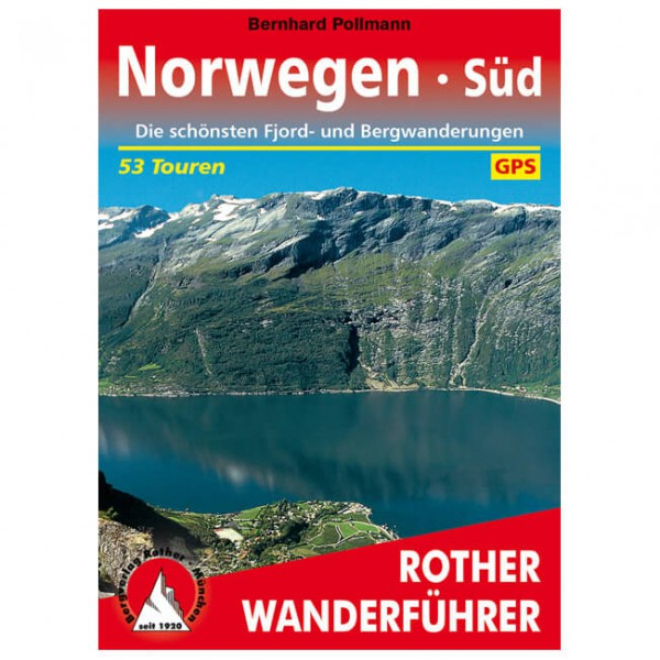 Bergverlag Rother - Norwegen Süd - Vandringsguider