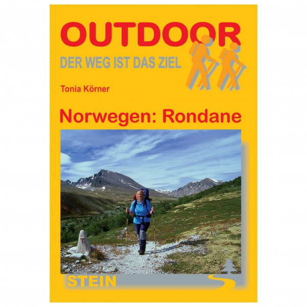 Conrad Stein Verlag - Norwegen: Rondane - Walking guide book