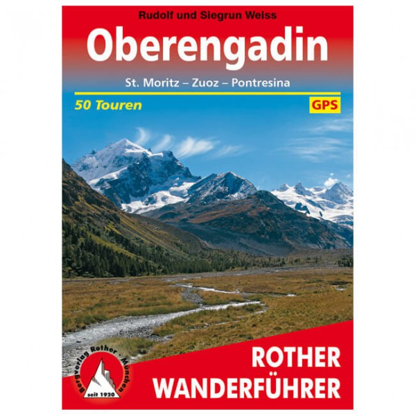 Bergverlag Rother - Oberengadin - Hiking guides