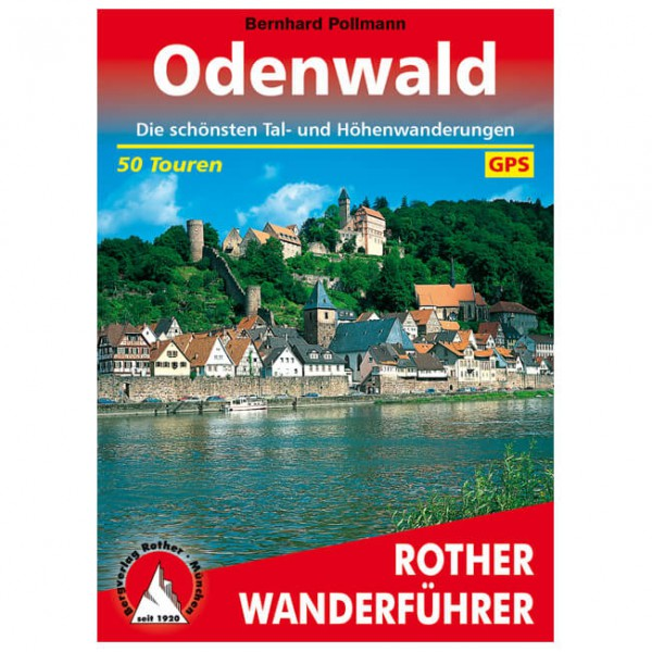 Bergverlag Rother - Odenwald - Vaellusoppaat
