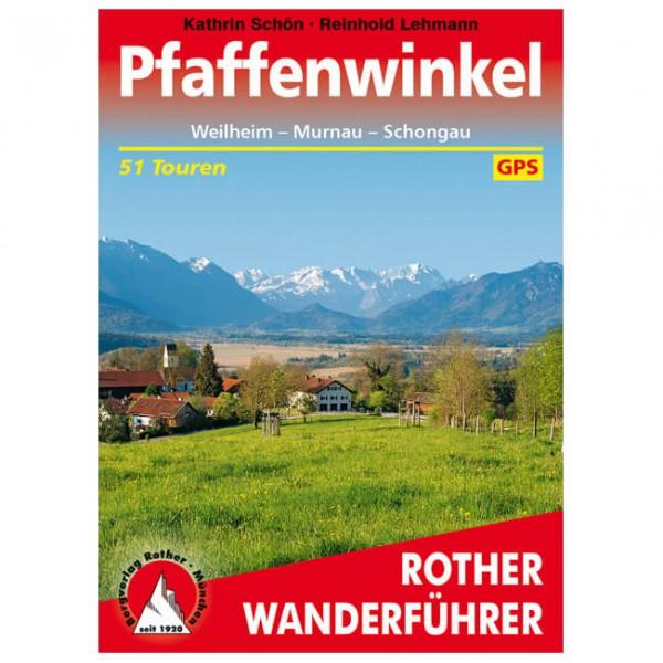 Bergverlag Rother - Pfaffenwinkel - Walking guide books