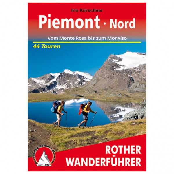 Bergverlag Rother - Piemont Nord - Walking guide book