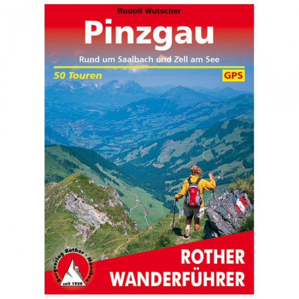 Bergverlag Rother - Pinzgau - Walking guide book