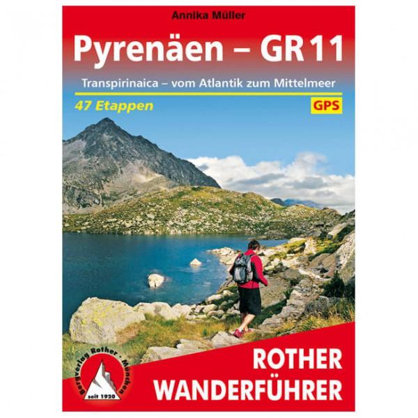Bergverlag Rother - Pyrenäen - GR 11 - Vaellusoppaat