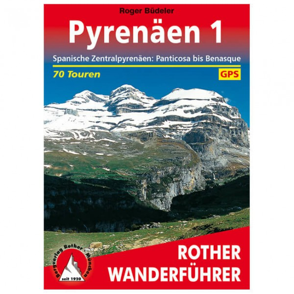 Bergverlag Rother - Pyrenäen 1 - Wanderführer