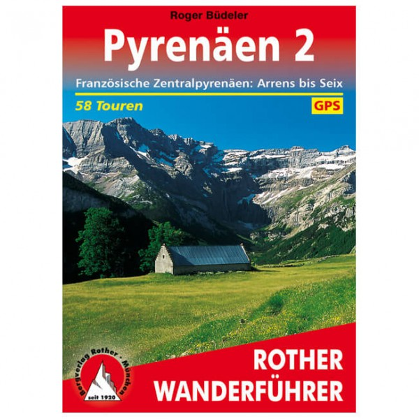 Bergverlag Rother - Pyrenäen 2 - Walking guide book