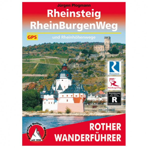 Bergverlag Rother - Rheinsteig - RheinBurgenWeg