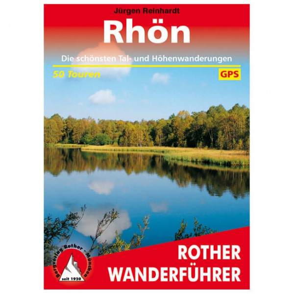 Bergverlag Rother - Rhön - Wandelgidsen
