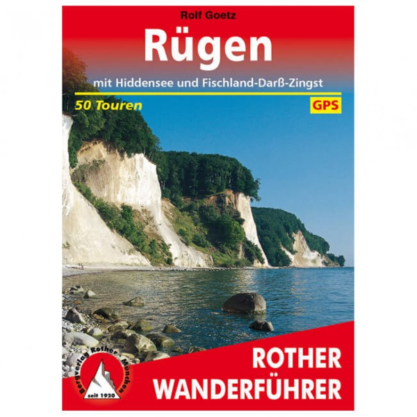 Bergverlag Rother - Rügen - Walking guide book