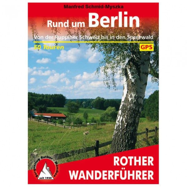 Bergverlag Rother - Rund um Berlin - Hiking guides