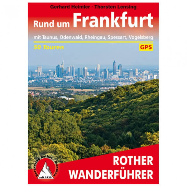 Bergverlag Rother - Rund um Frankfurt - Walking guide book