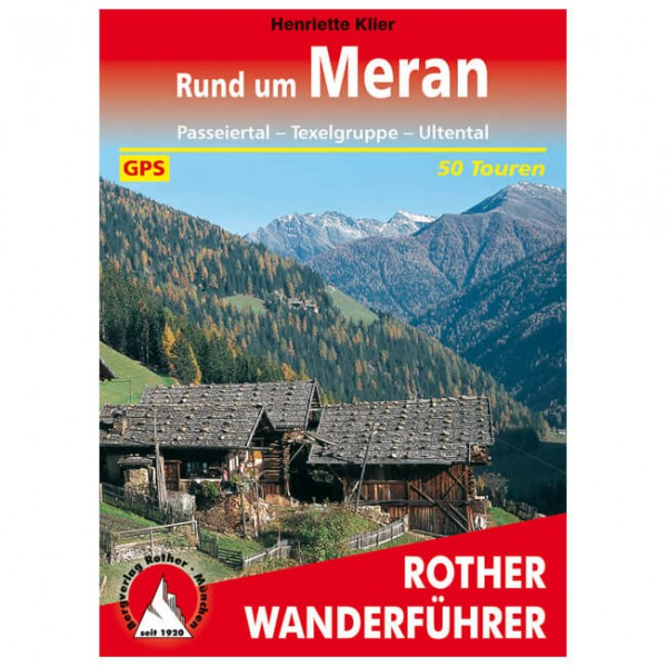 Bergverlag Rother - Rund um Meran - Wandelgidsen