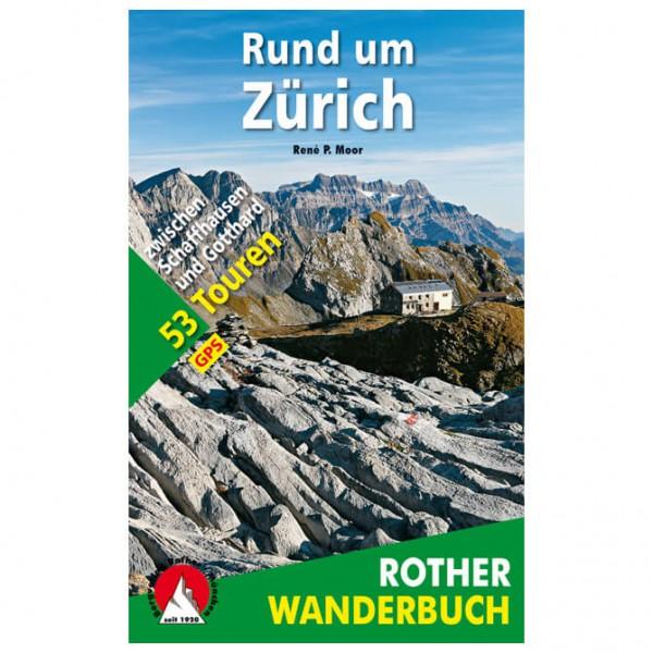 Bergverlag Rother - Rund um Zürich - Walking guide book