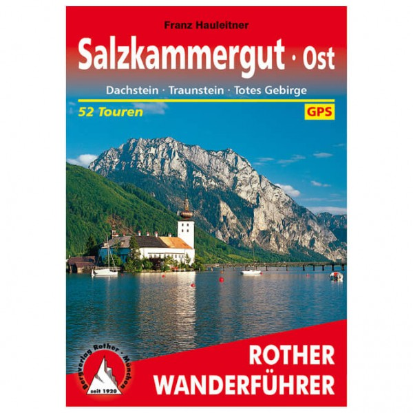 Bergverlag Rother - Salzkammergut Ost - Walking guide book