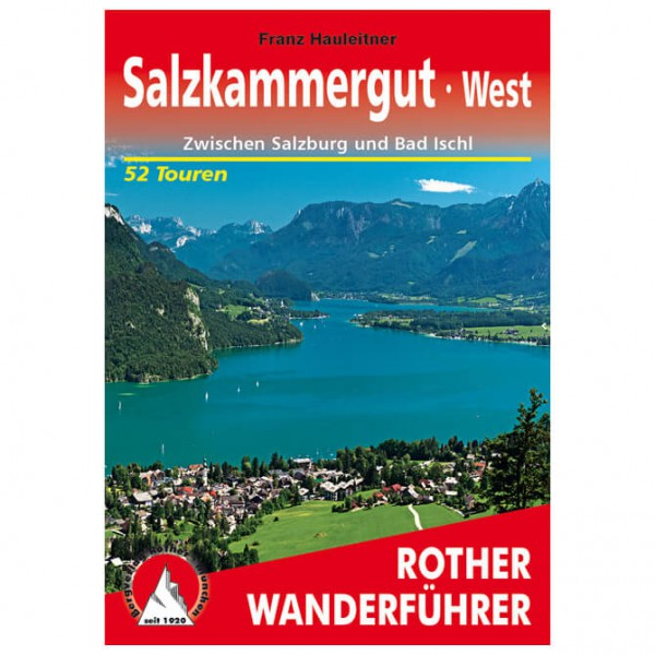 Bergverlag Rother - Salzkammergut West - Wandelgidsen