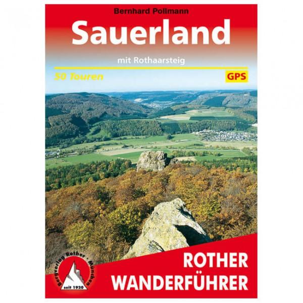 Bergverlag Rother - Sauerland - Walking guide book