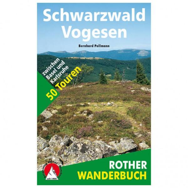 Bergverlag Rother - Schwarzwald - Vogesen - Wanderführer