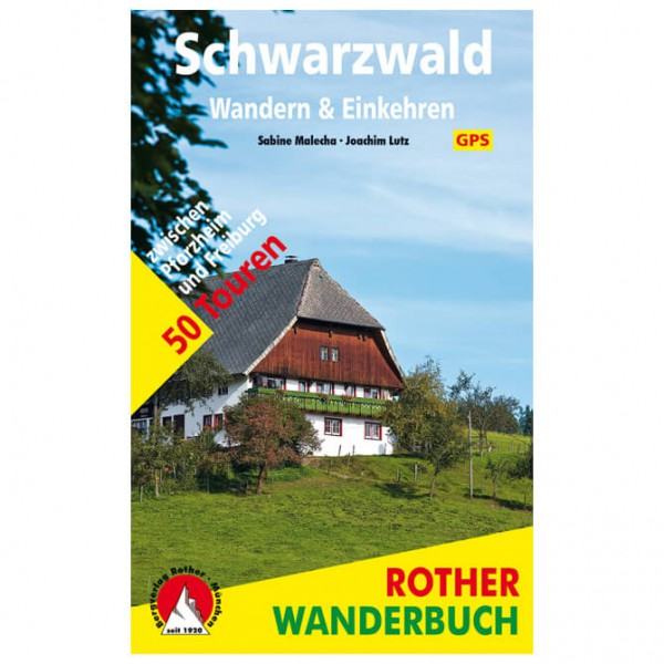 Bergverlag Rother - Schwarzwald - Walking guide book