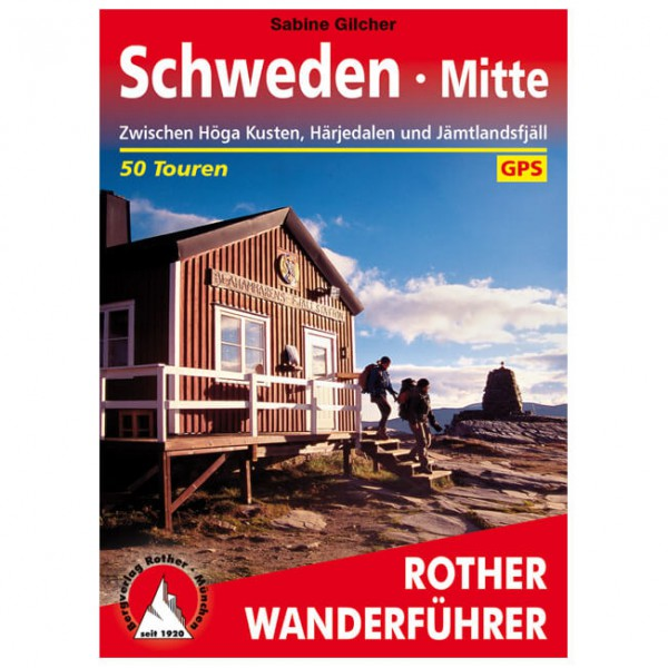 Bergverlag Rother - Schweden Mitte - Vaellusoppaat