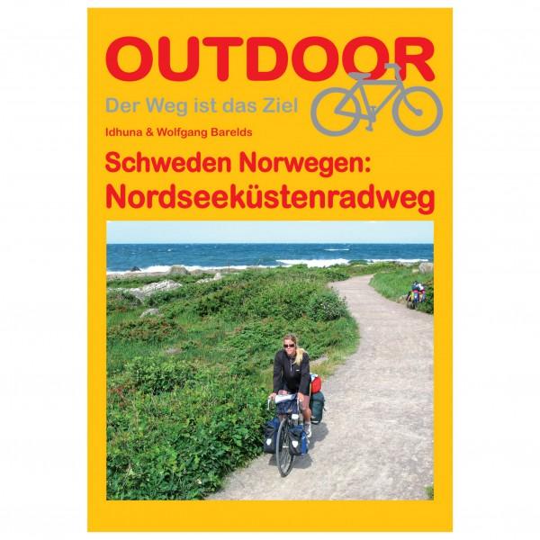 Conrad Stein Verlag Schweden Norwegen: Nordseeküstenradweg - Cykelguides køb online | Kort