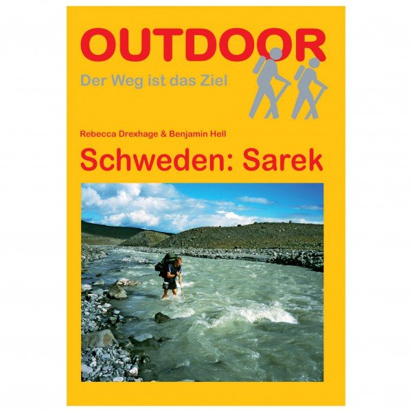 Conrad Stein Verlag - Schweden: Sarek - Walking guide book