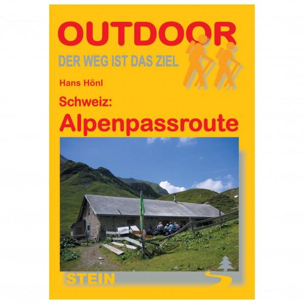 Conrad Stein Verlag - Schweiz: Alpenpassroute - Vandringsguider