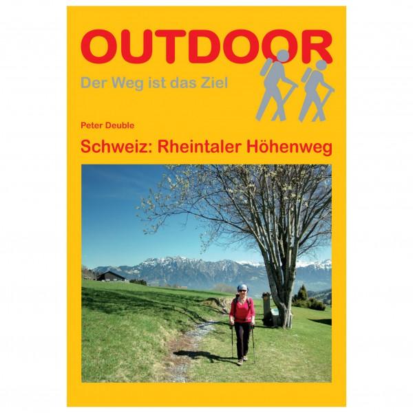 Conrad Stein Verlag - Schweiz: Rheintaler Höhenweg