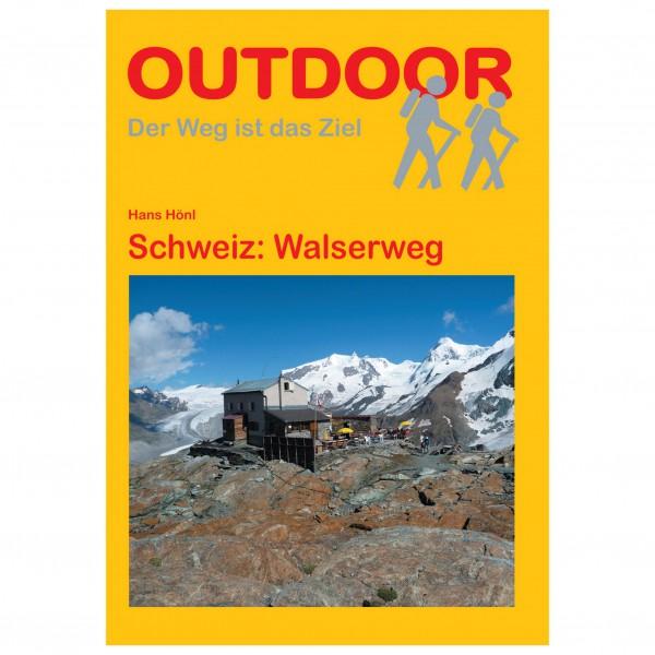 Conrad Stein Verlag - Schweiz: Walserweg - Walking guide book