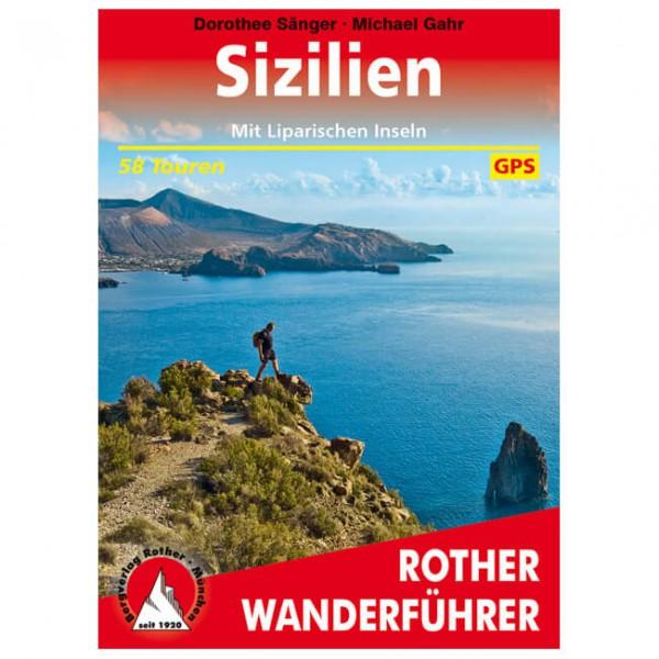 Bergverlag Rother - Sizilien - Vandreguides
