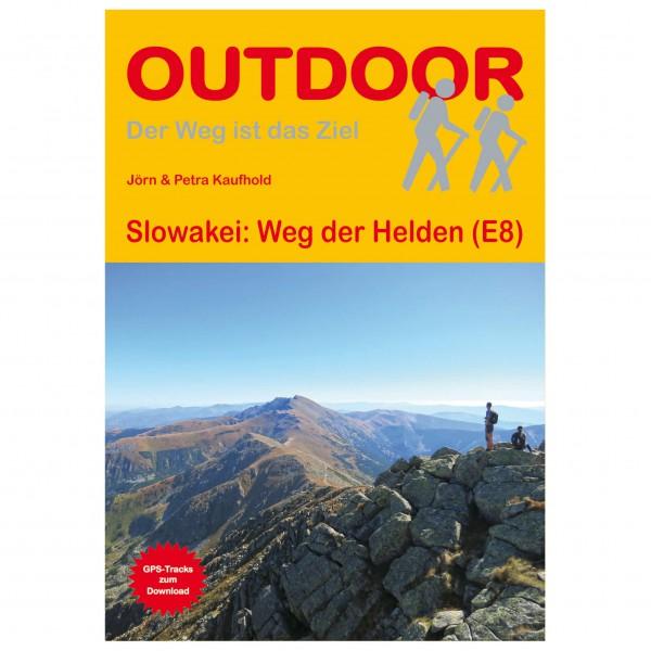Conrad Stein Verlag - Slowakei: Weg der Helden (E8) - Vaellusoppaat